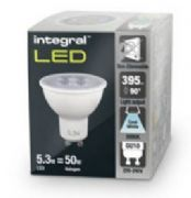 LED Spot lights | GU10 Cool White | Integral LED | 50W Halogen
